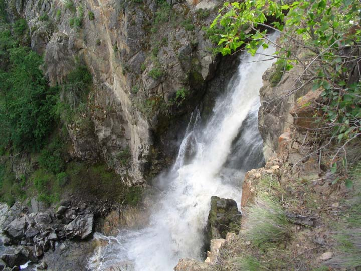 Fintry Park Waterfalls.JPG