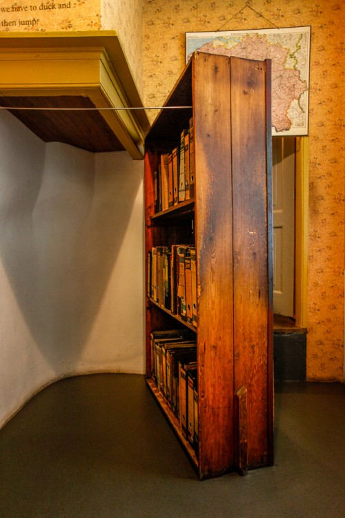 Hidden Annex Door, Copyright Anne Frank House Photographer Cris Toala Olivares