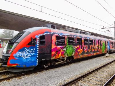 Art Deco Train