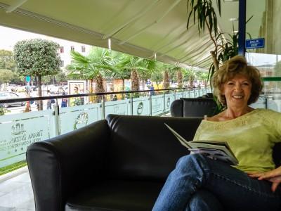 Irene Relaxing
