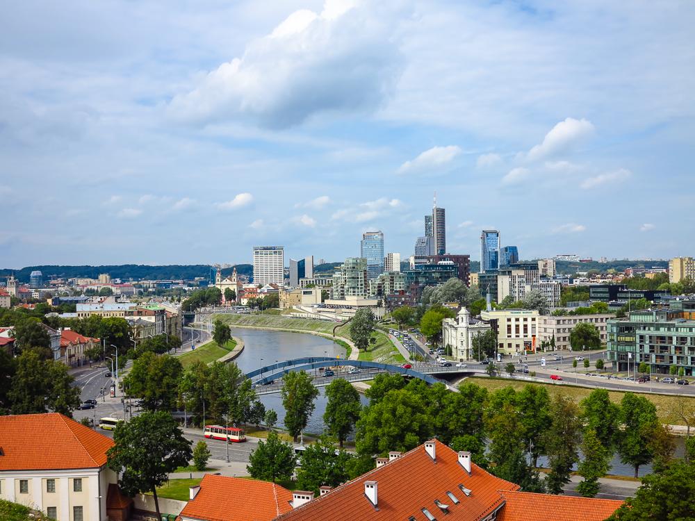 Vilnius from Gediminas Hill
