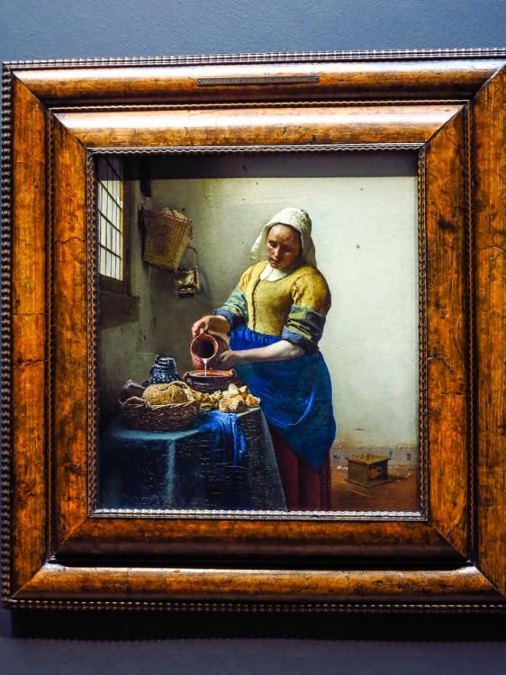 Vermeer's Milk Maid