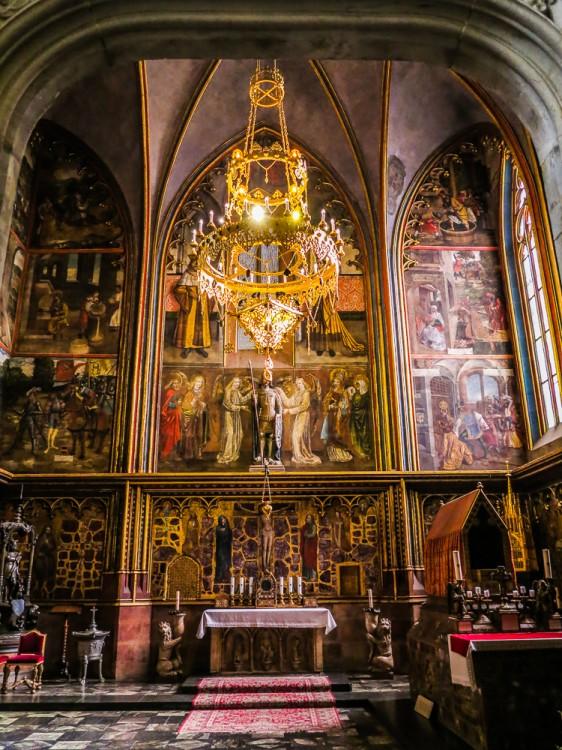 St Wenceslas Chapel