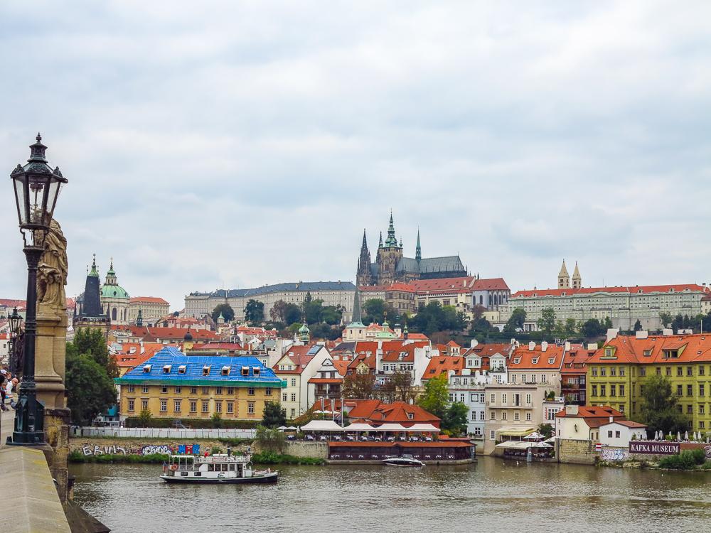 Prague Castle from Charles Bridge