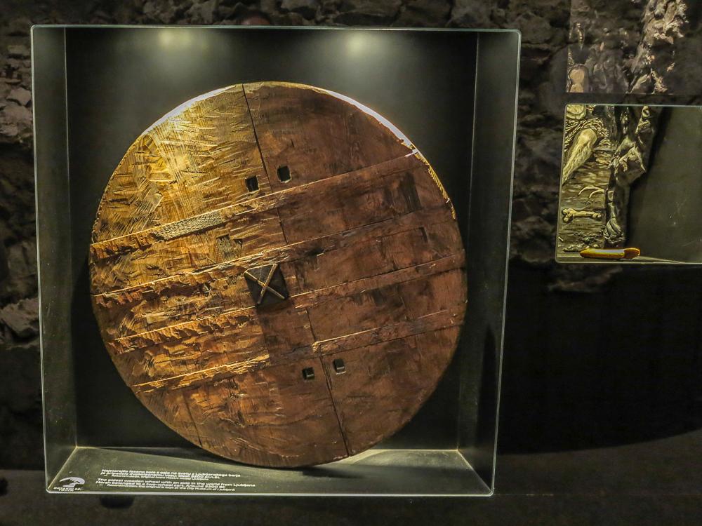 Replica of Oldest Wheel