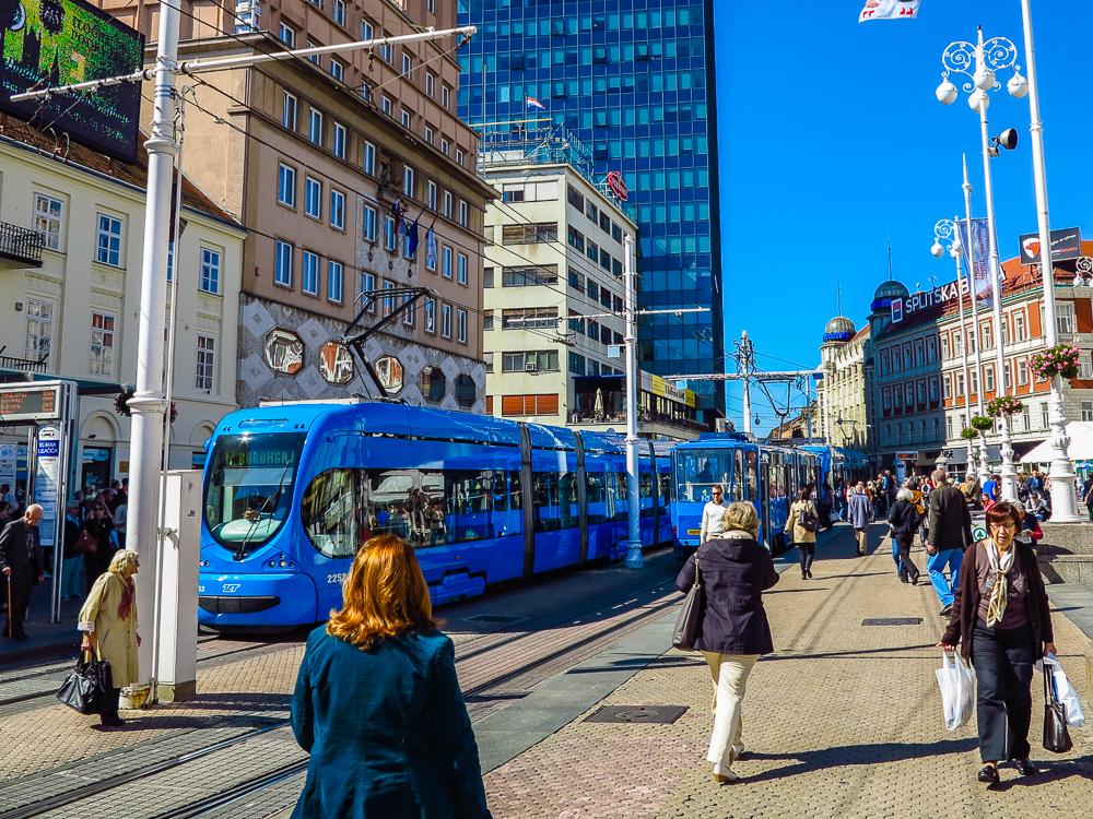 Blue Trams