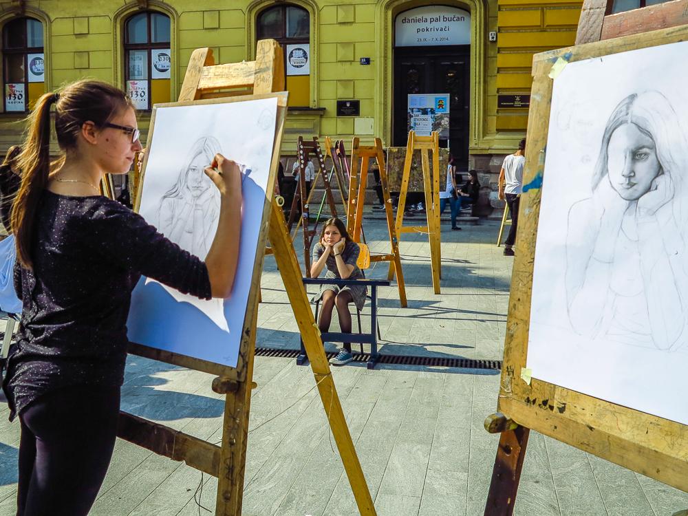 Artist Sketchings