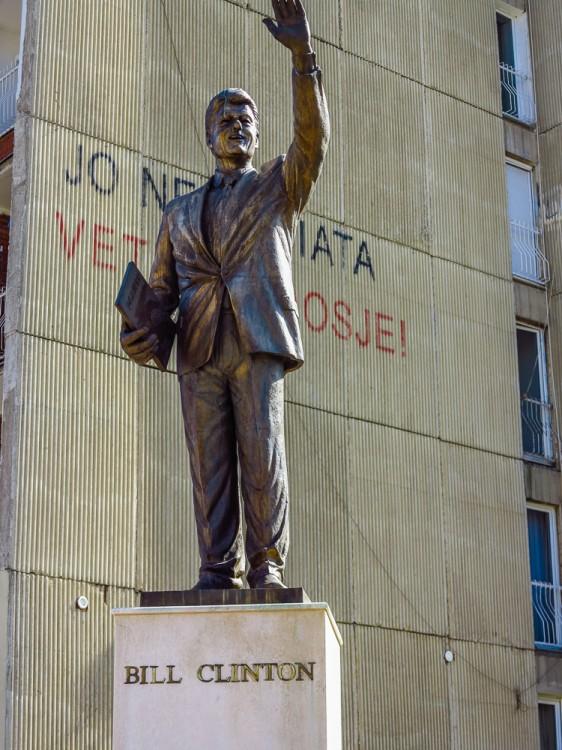 Bill Clinton Monument
