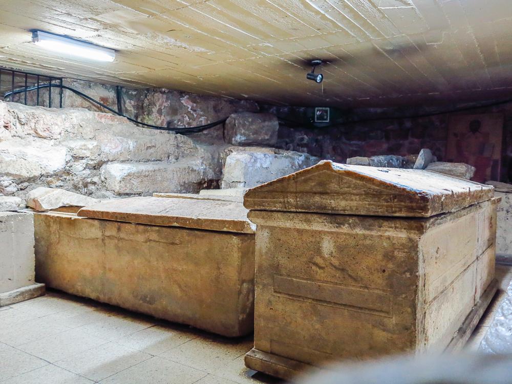 St Lazarus Crypt