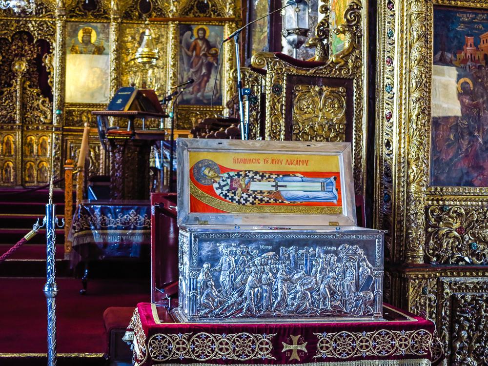 St Lazarus Relics
