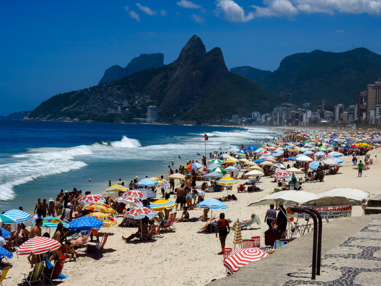 Ipanema Beach Umbrellas