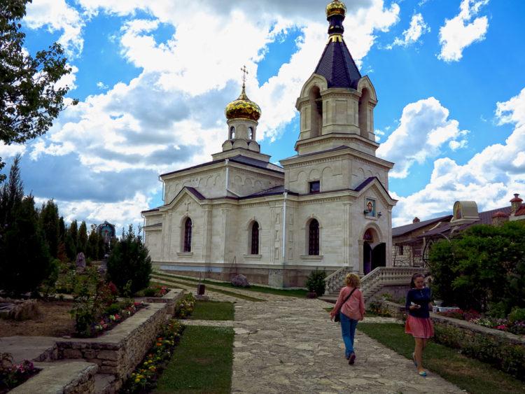 Orheiul Vechi Church Moldova