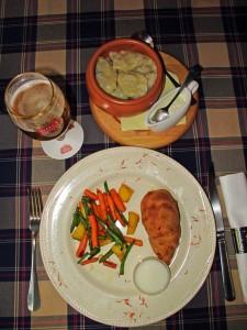 Korifetay_chicken Kyiv_vareniki